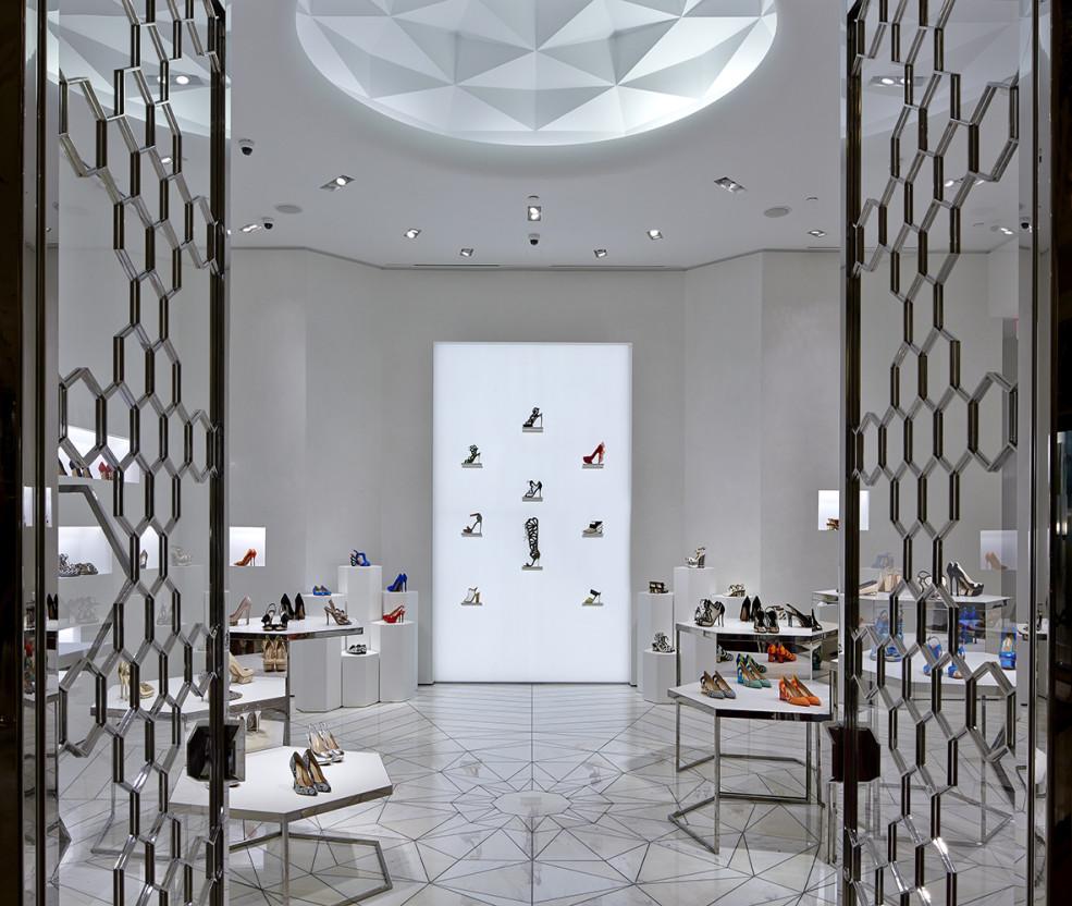 Nicholas Kirkwood store  interior