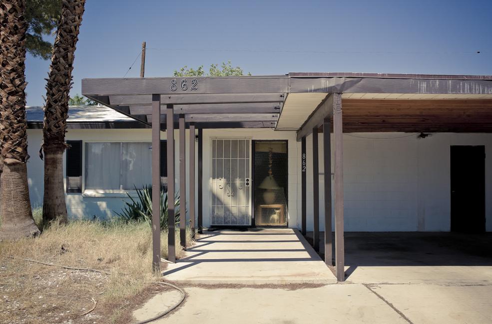 Midcentury modern house in Las Vegas