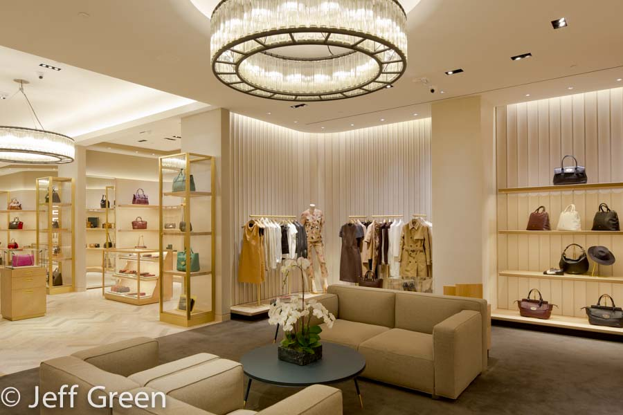 Interior of Mulberry store.
