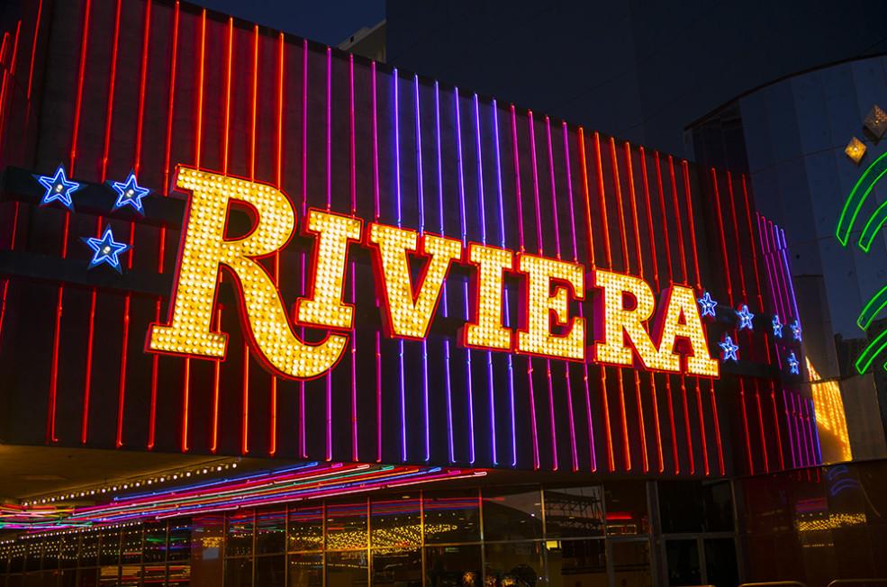 Riviera Hotel & Casino Las Vegas, NV.