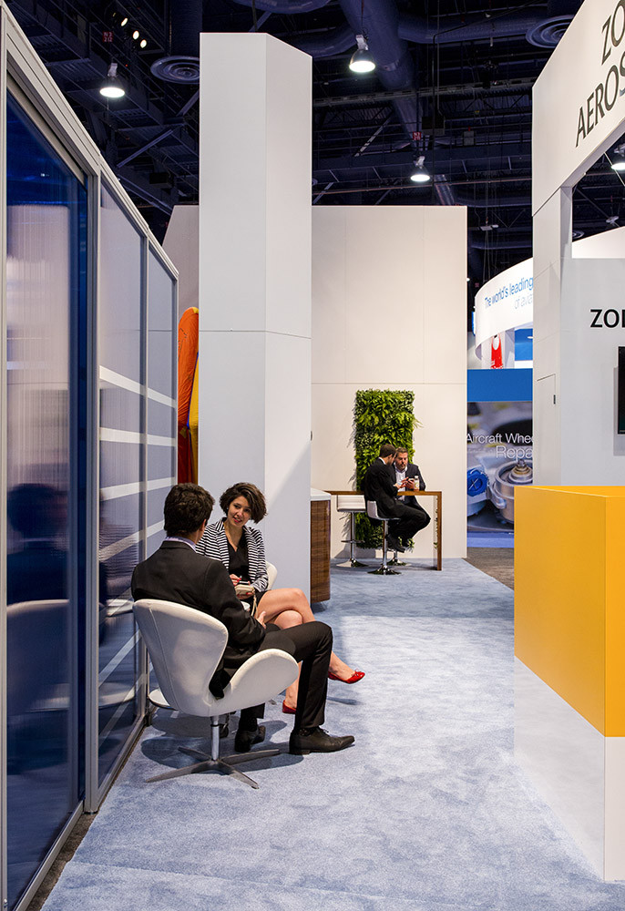 zodiac tradeshow booth